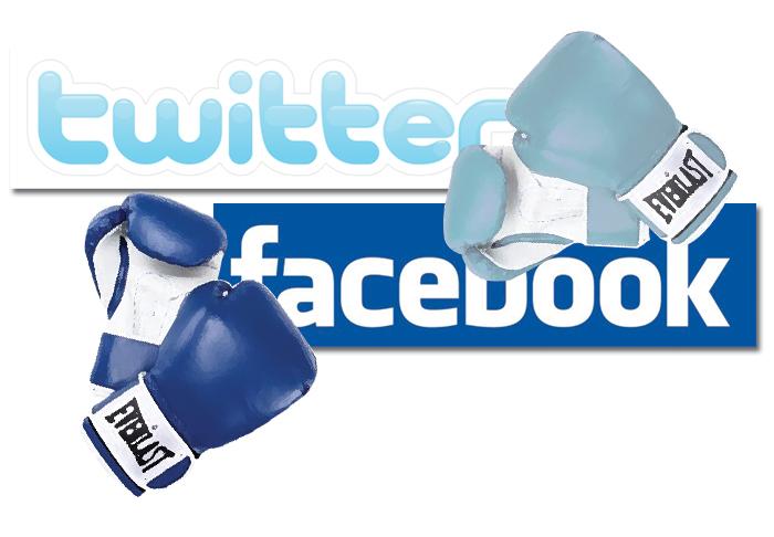 < facebook vs twitter > la decision la tienes tú